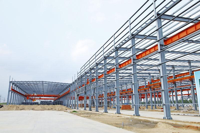 plac budowy hali