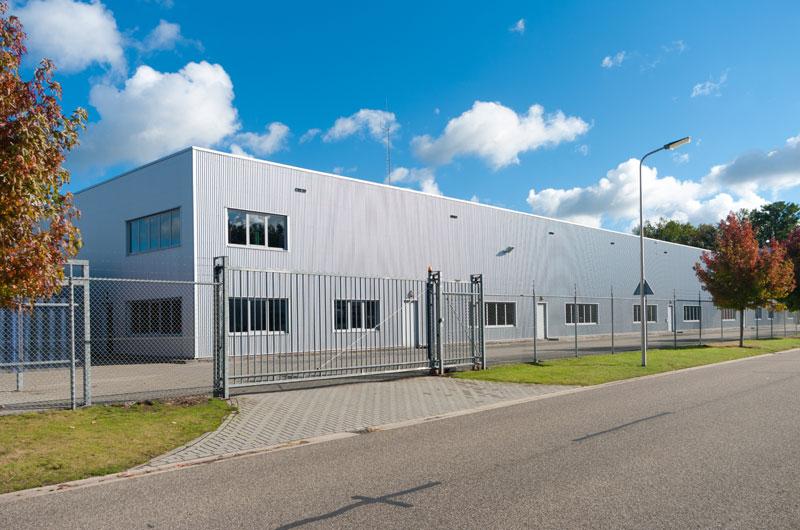 hala przemysłowa - brama